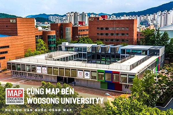 Tòa nhà Endicott biểu tượng của Woosong University