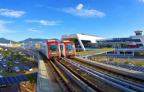 Trường Woosong tham gia dự án xây dựng Đường sắt nhẹ Busan-Gimhae