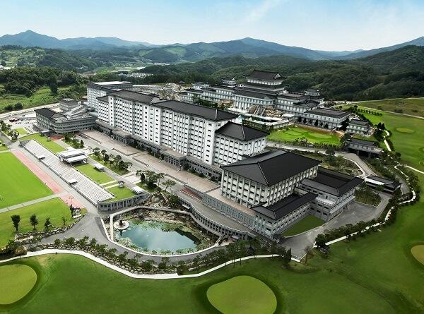 Toàn cảnh trường Jungwon Hàn Quốc