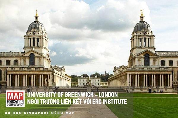 Học viện ERC liên kết với Đại học Greenwich