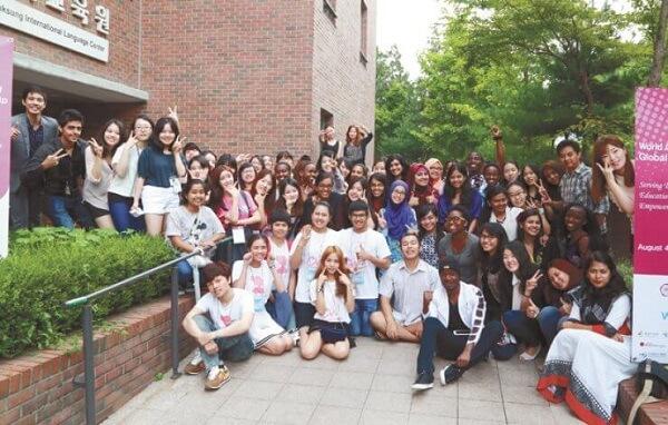 Sinh viên quốc tế Đại học Nữ sinh Duksung