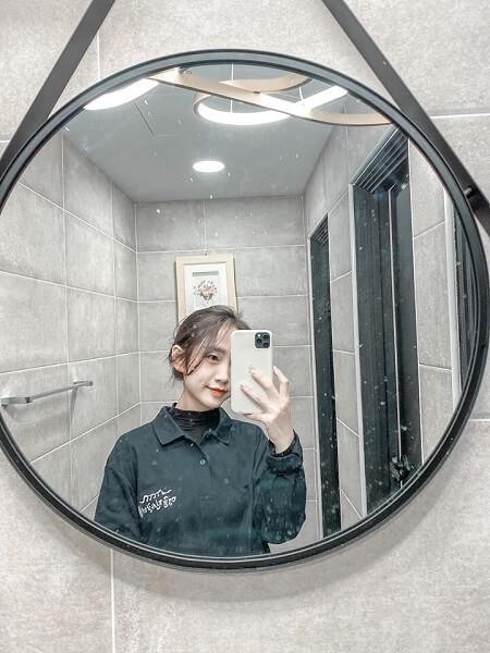 Sinh viên xinh xắn của MAP, bạn Anh Vân lựa chọn du học Hàn Quốc vừa học vừa làm tại một nhà hàng nổi tiếng