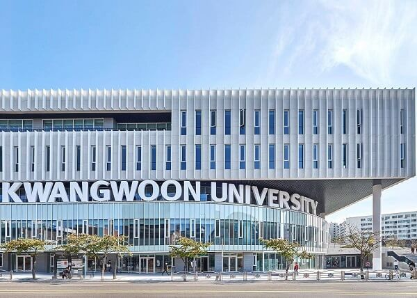 Học xá chính tại trường đại học Kwangwoon Hàn Quốc