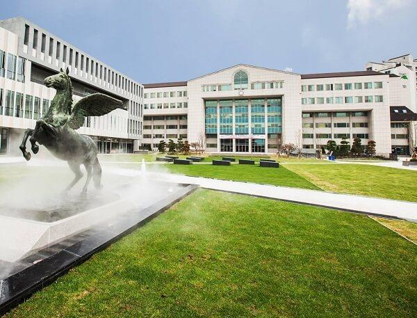 Một góc khuôn viên trường Kwangwoon