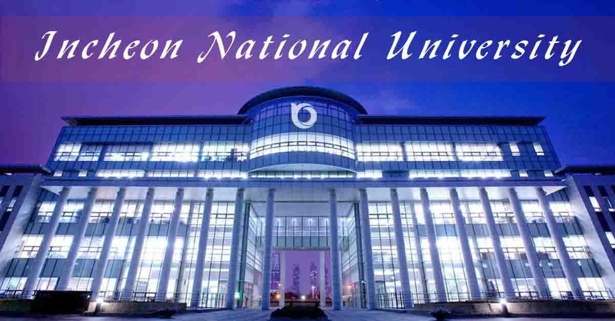 Đại Học Quốc Gia Incheon Tuyển Sinh Hệ Tiếng Anh