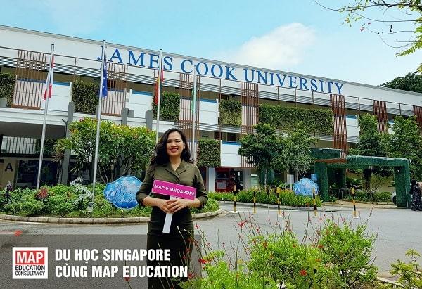 Cùng MAP tìm hiểu điều kiện du học Singapore trường Đại học James Cook