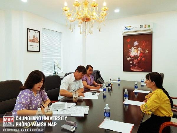 Đại học ChungAng phỏng vấn sinh viên tại MAP Thành phố Hồ Chí Minh
