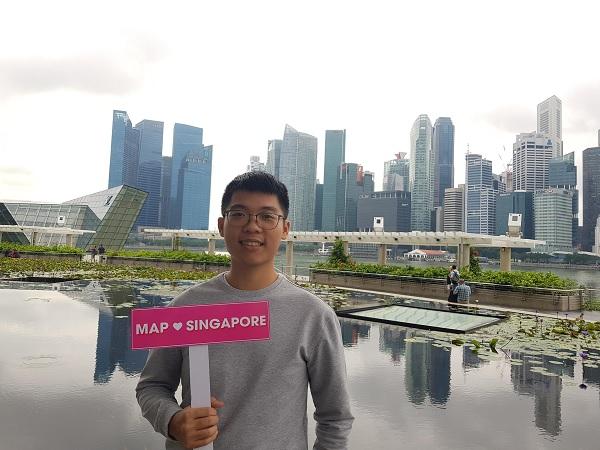 Trần Hoàng Tuấn Khải - Sinh viên của MAP hiện đang du học Singapore