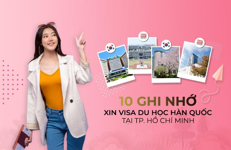 10 Cập Nhật Về Hồ Sơ Xin Visa Du Học Hàn Quốc Tại TPHCM
