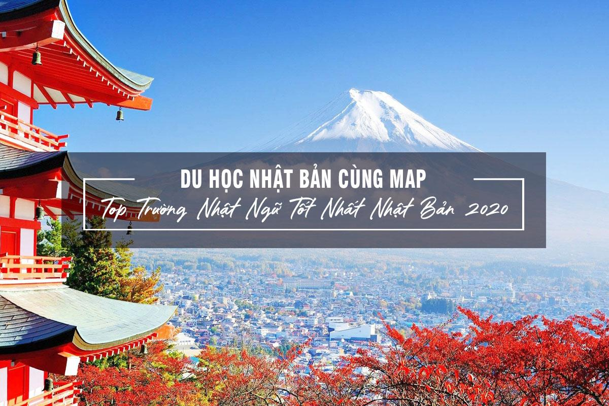 Du học Nhật Bản cùng MAP - Top trường Nhật ngữ tốt nhất Nhật Bản