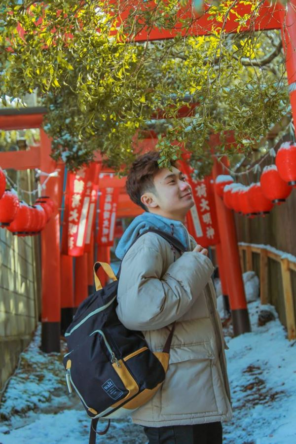 Quang Vinh - Một trong những sinh viên MAP đã xin giấy chứng nhận tư cách lưu trú tại Nhật Bản thành công, hiện đang học tập tại Osaka