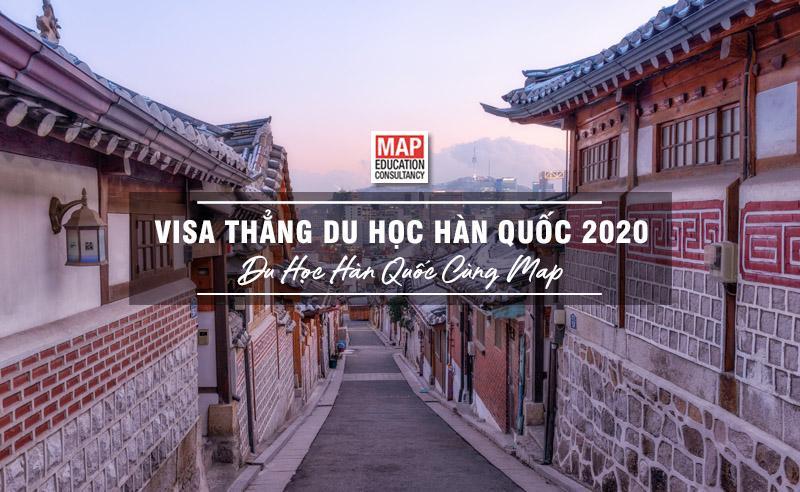 Visa thẳng du học Hàn Quốc 2020: Cơ hội dành cho sinh viên có phần giới hạn nhưng đáng giá