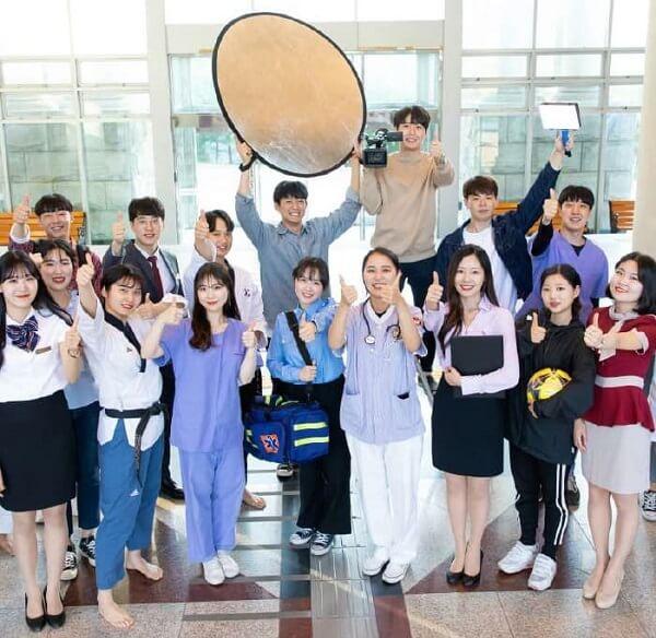 Đại diện các ngành học tại trường Nazarene Hàn Quốc