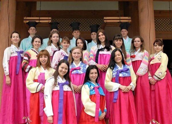 Lớp trải nghiệm văn hóa Hàn Quốc tại Đại học Daegu Haany