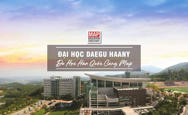 Cùng Du học MAP khám phá Đại Học Daegu Haany Hàn Quốc