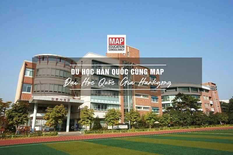 Cùng Du học MAP khám phá trường Đại Học Quốc Gia Hankyong Hàn Quốc