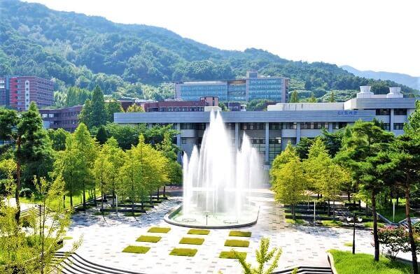 Khuôn viên Sunchon National University