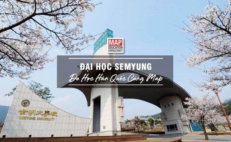 Cổng trường Đại học Semyung