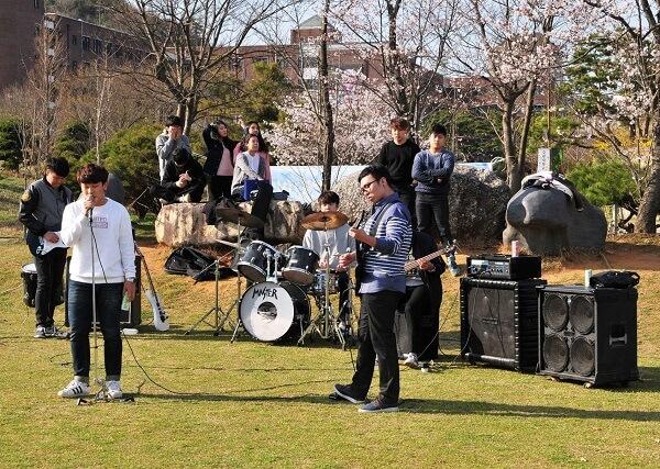 Một buổi giao lưu âm nhạc tại Howon University