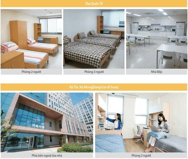 Ký túc xá hiện đại tại Bucheon University