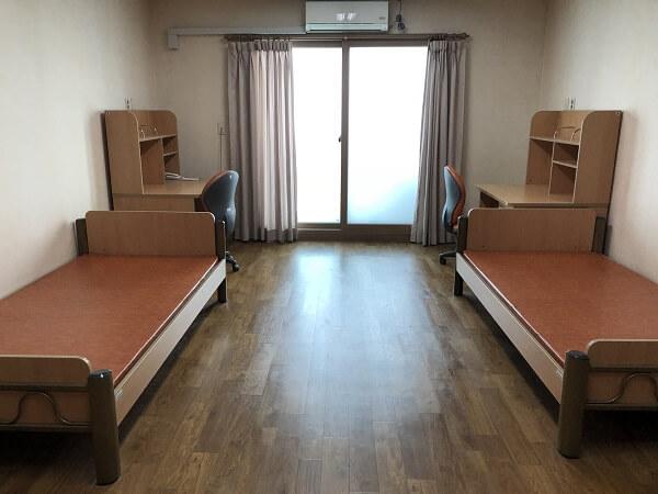 Phòng đôi tiêu chuẩn tại Ký túc xá Daegu Catholic University
