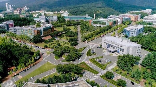 Toàn cảnh ĐH Công giáo Daegu