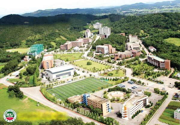 Toàn cảnh trường đại học Howon