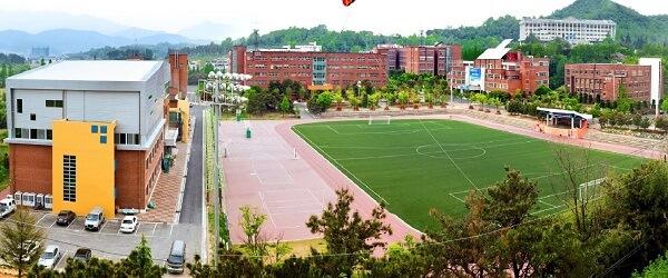 Toàn cảnh trường Đại học Jeonju Vision