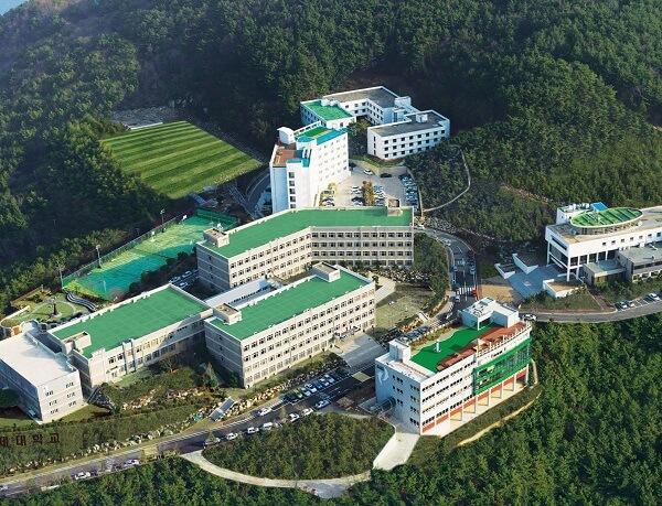 Toàn cảnh trường Koje Hàn Quốc