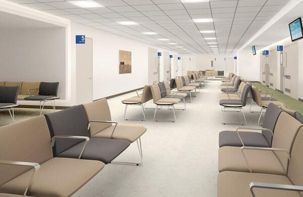 Trung tâm chăm sóc sức khỏe hiện đại trong trường