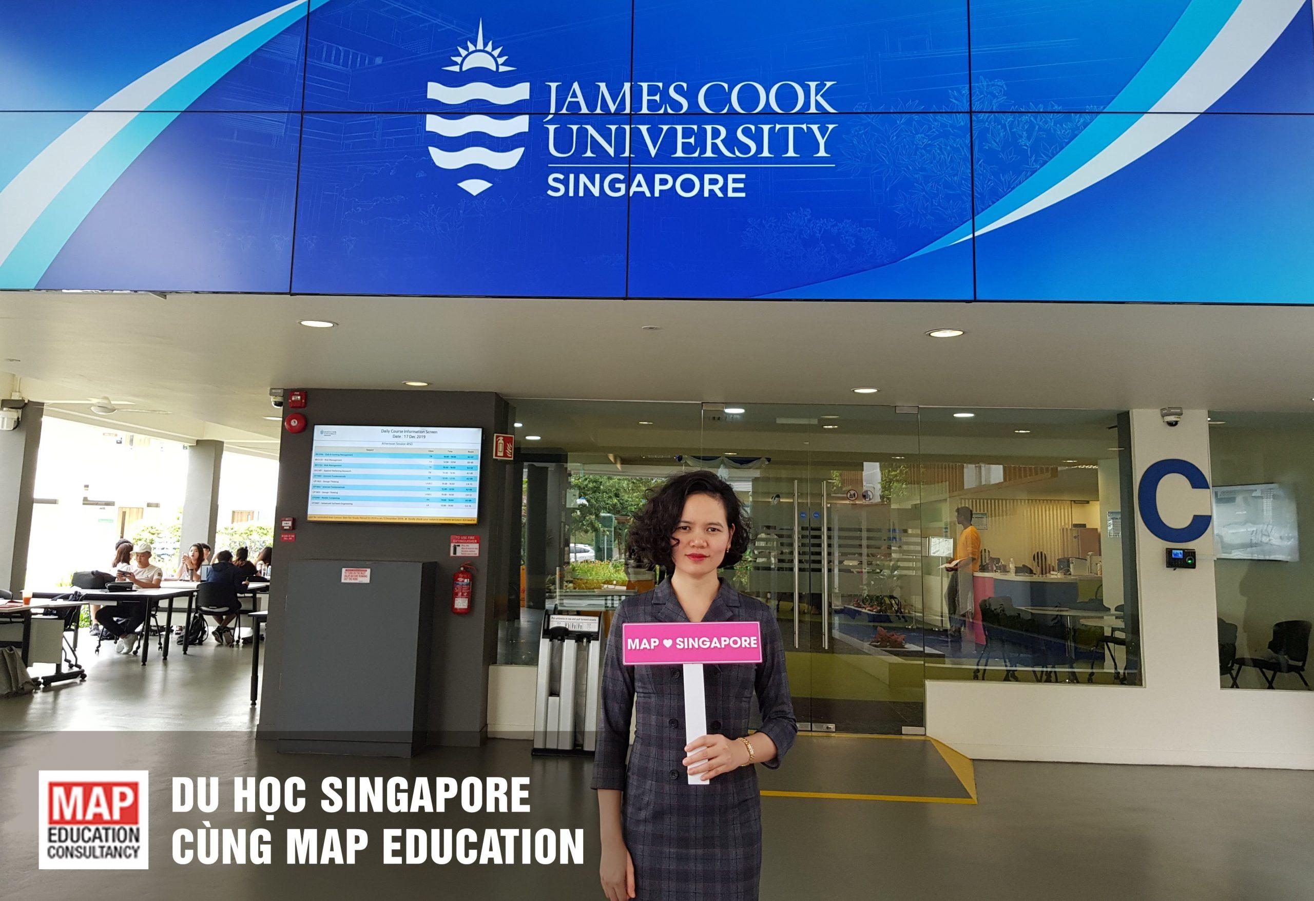 Học Bổng Đại Học James Cook Singapore Năm 2020