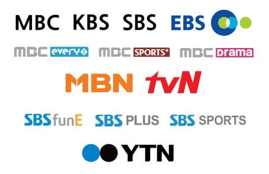 Các Đài truyền hình lớn của Hàn Quốc