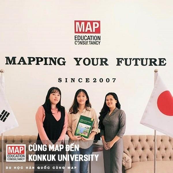 Cùng MAP du học Hàn Quốc ngành Truyền thông tại Đại học Konkuk