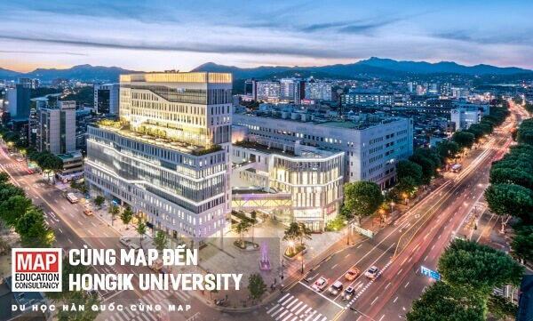 Đại học Hongik - trường mã code visa thẳng 2020