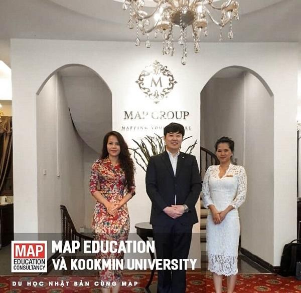 Du học Hàn Quốc ngành Kiến trúc tại Đại học Kookmin cùng MAP