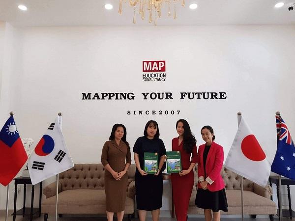 Đại diện trường Konkuk đến thăm và làm việc tại MAP TP.HCM
