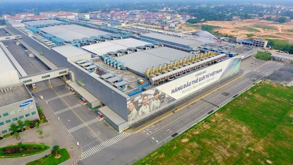 Nhà máy Samsung tại Thái Nguyên