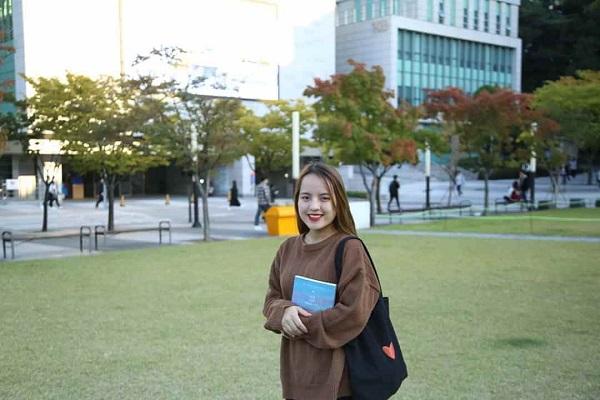 Bạn Thảo Phương, sinh viên MAP tại trường Đại học Chung-ang - TOP 116 trường Đại học tốt nhất Hàn Quốc