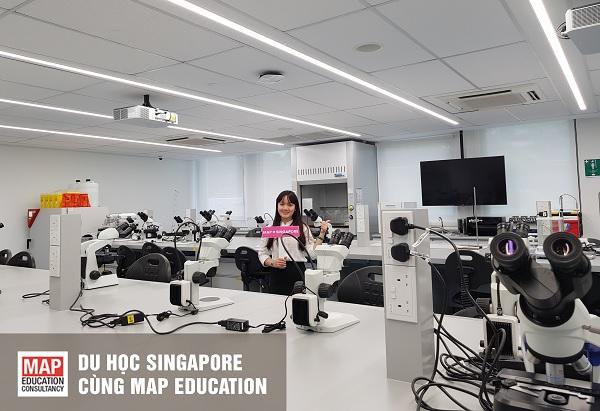 Trường đầu tư cơ sở vật chất hiện đại phục vụ cho việc học của sinh viên