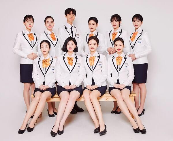 Đồng phục trường ĐHQG Kangwon