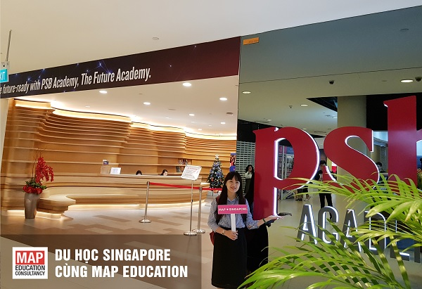 Du học học viện PSB Singapore cùng MAP
