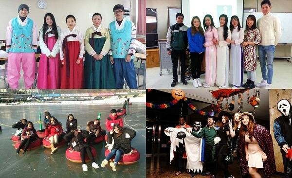 Giao lưu văn hóa các nước tại trường