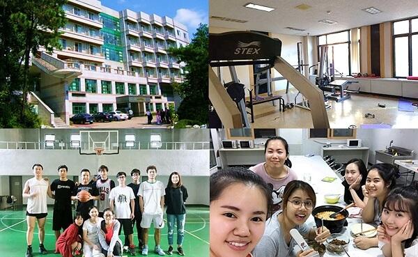 Ký túc xá đạt chuẩn quốc tế tại Đại học Luật và Kinh doanh Quốc tế Hàn Quốc