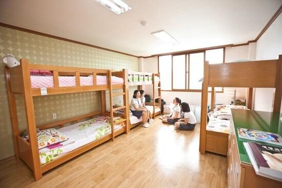 Ký túc xá trường Đại học Quốc gia Kangwon Hàn Quốc