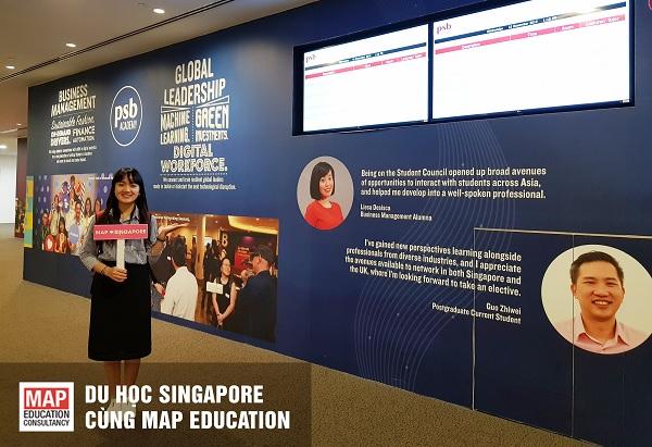 Tìm hiểu học bổng du học Singapore PSB
