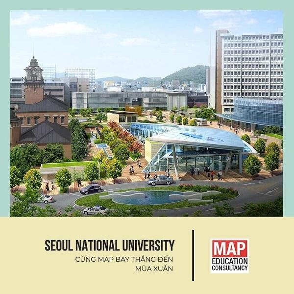 Cùng MAP khám phá Đại học Quốc gia Seoul