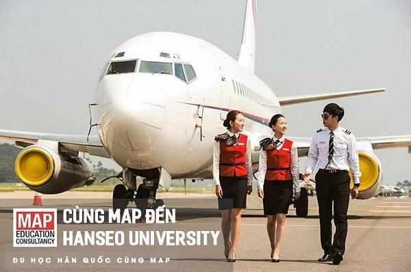 Du học Hàn Quốc ngành Tiếp viên hàng không tại Đại Học Hanseo cùng MAP