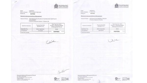 Du học MAP hỗ trợ hoàn thiện từ A - Z hồ sơ xin visa du học Singapore