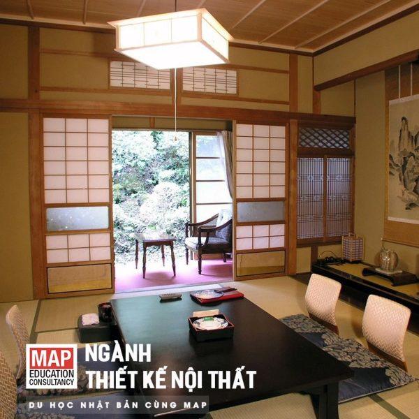 Du Học Nhật Bản Ngành Thiết Kế Nội Thất: Trải Nghiệm Phong Cách Bày Trí Tinh Xảo Của Người Nhật Bản