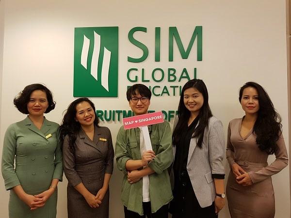 Học phí đại học Singapore trường SIM